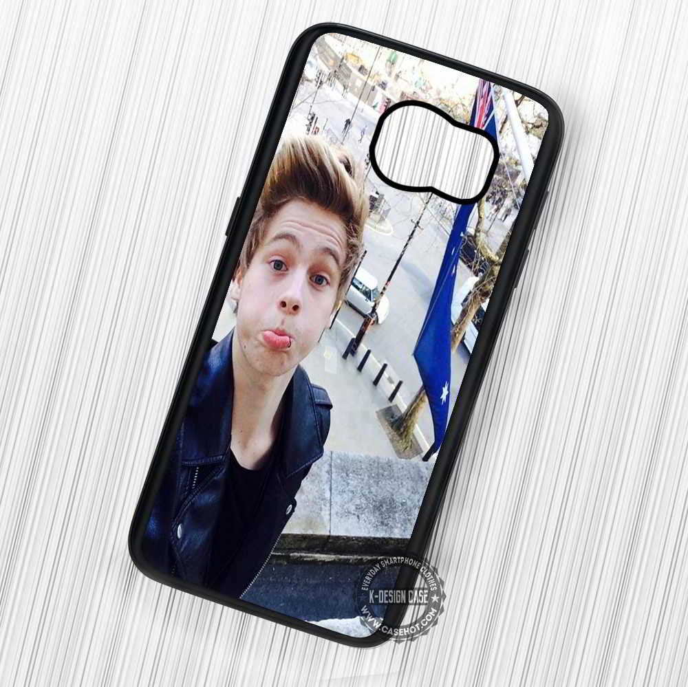 5 Seconds of Summer Luke and Australian Flag - Samsung Galaxy S7 S6 S5 Note 7 Cases & Covers - Kawung Design  - 1