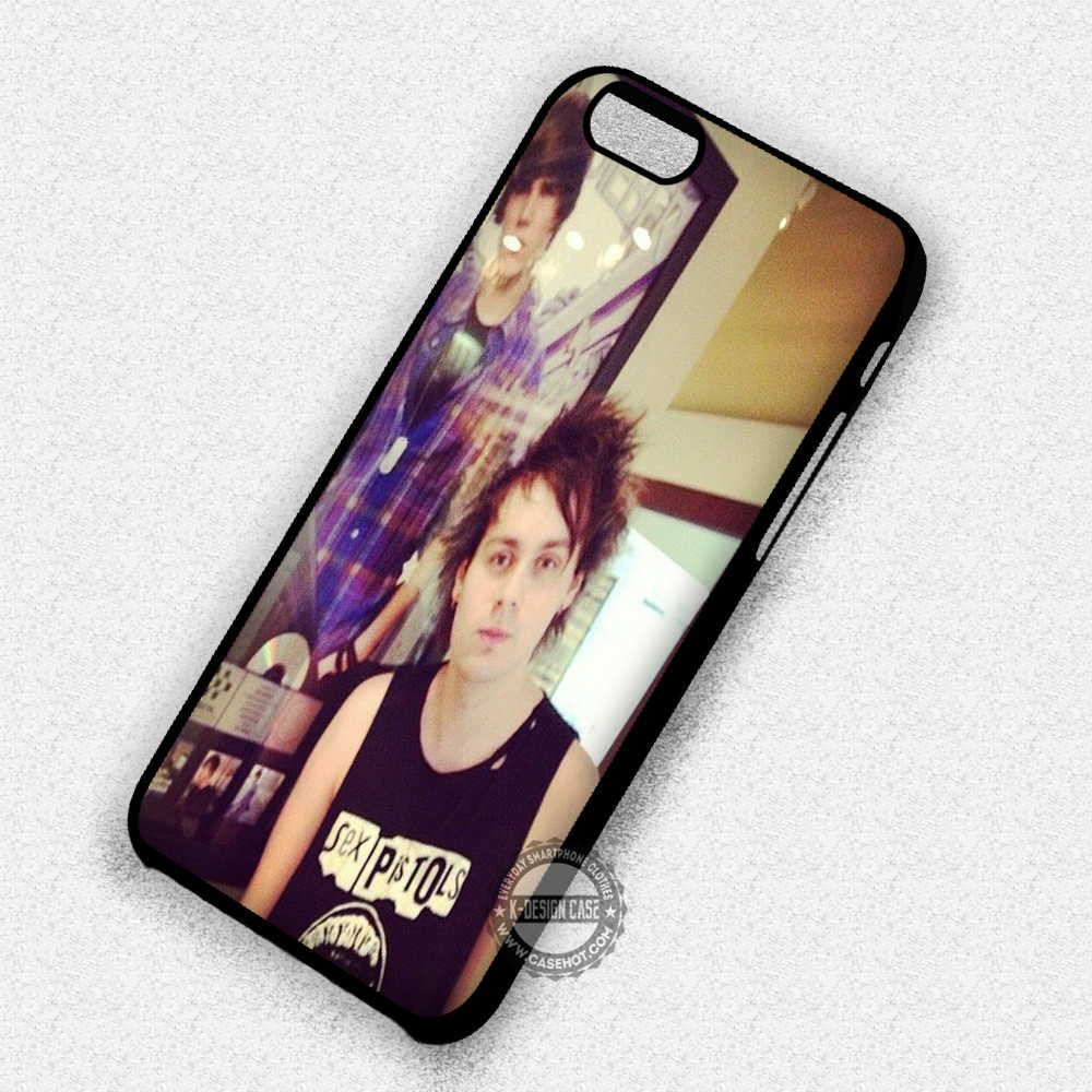 5 Seconds of Summer Clifford Pose Like Justin Bieber - iPhone 7 Plus 6S SE Cases & Covers - Kawung Design  - 1