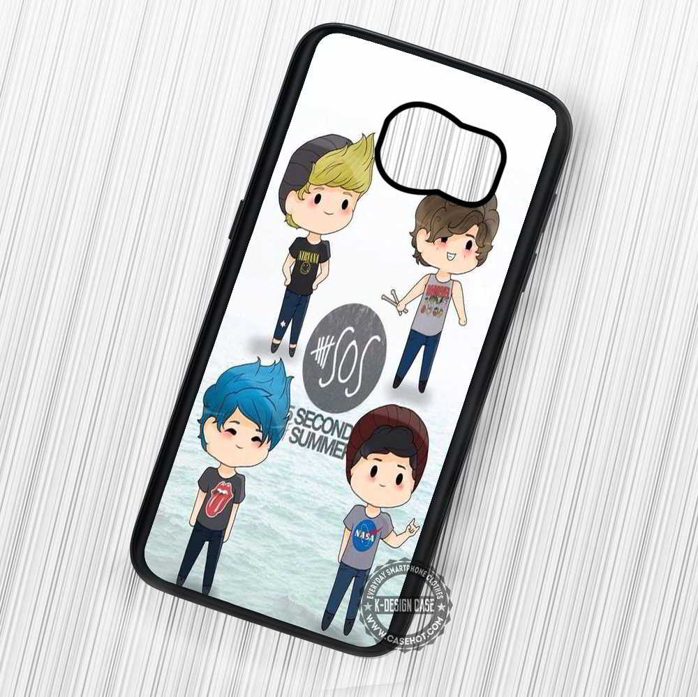 5 Seconds of Summer Cute Art - Samsung Galaxy S7 S6 S5 Note 7 Cases & Covers - Kawung Design  - 1