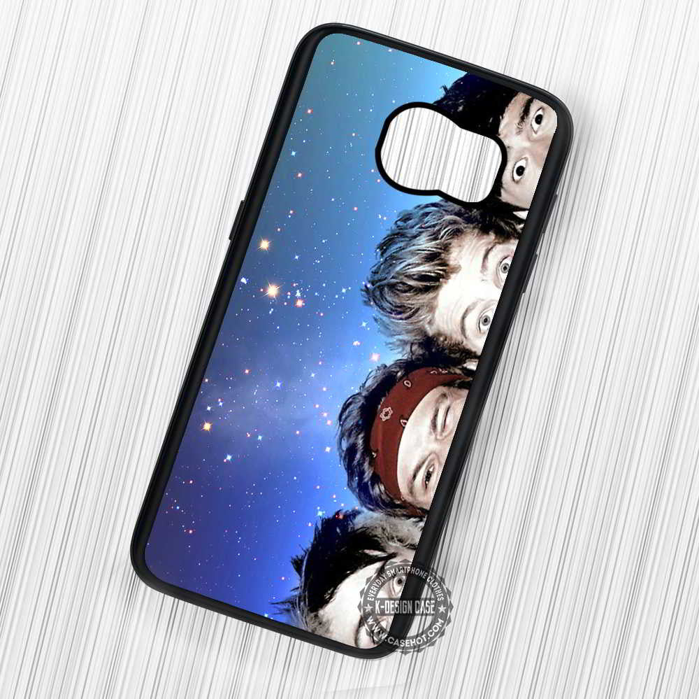 5 Seconds of Summer Eyes with Stars - Samsung Galaxy S7 S6 S5 Note 7 Cases & Covers - Kawung Design  - 1
