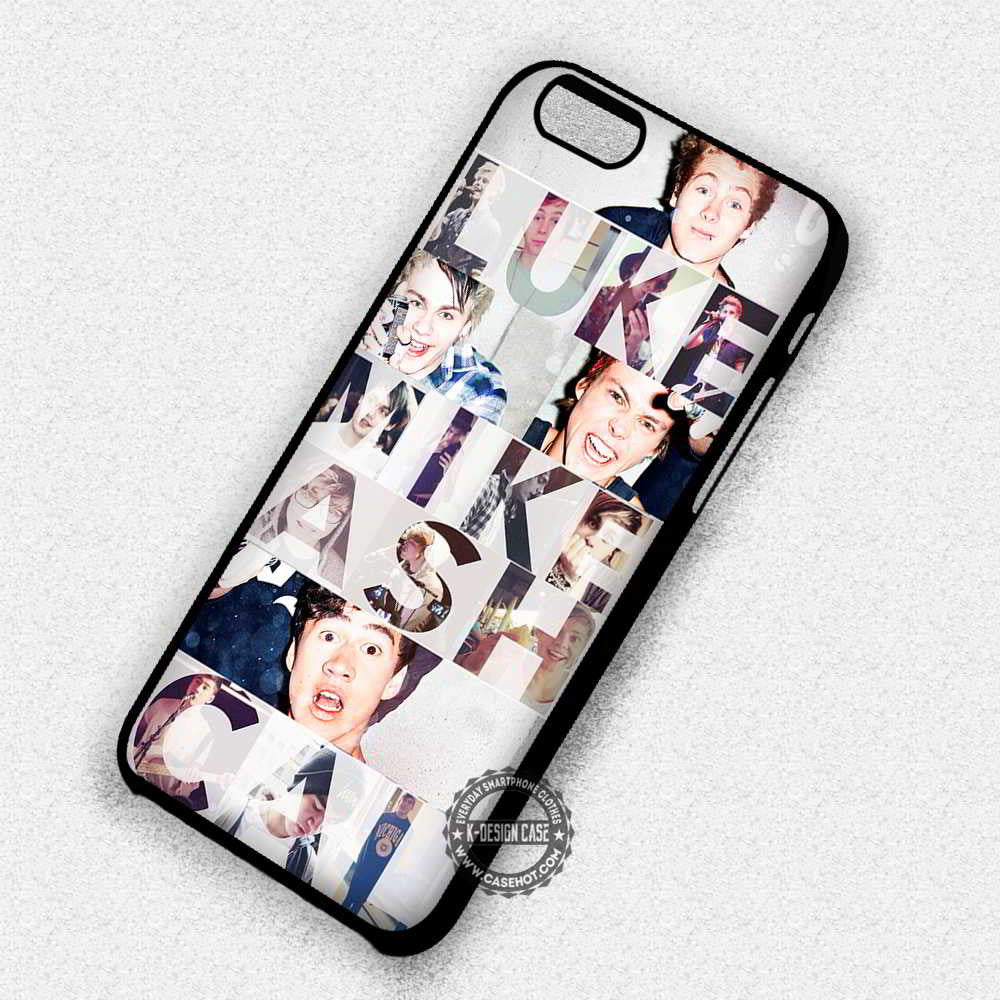 5 Seconds of Summer 5 Seconds of Summer Collage Text Funny - iPhone 7 6S 5 SE 4 Cases & Covers - Kawung Design  - 1