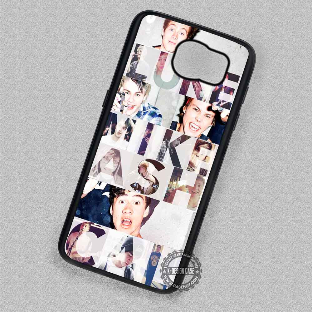 5 Seconds of Summer Collage Text - Samsung Galaxy S7 S6 S5 Note 7 Cases & Covers - Kawung Design  - 1