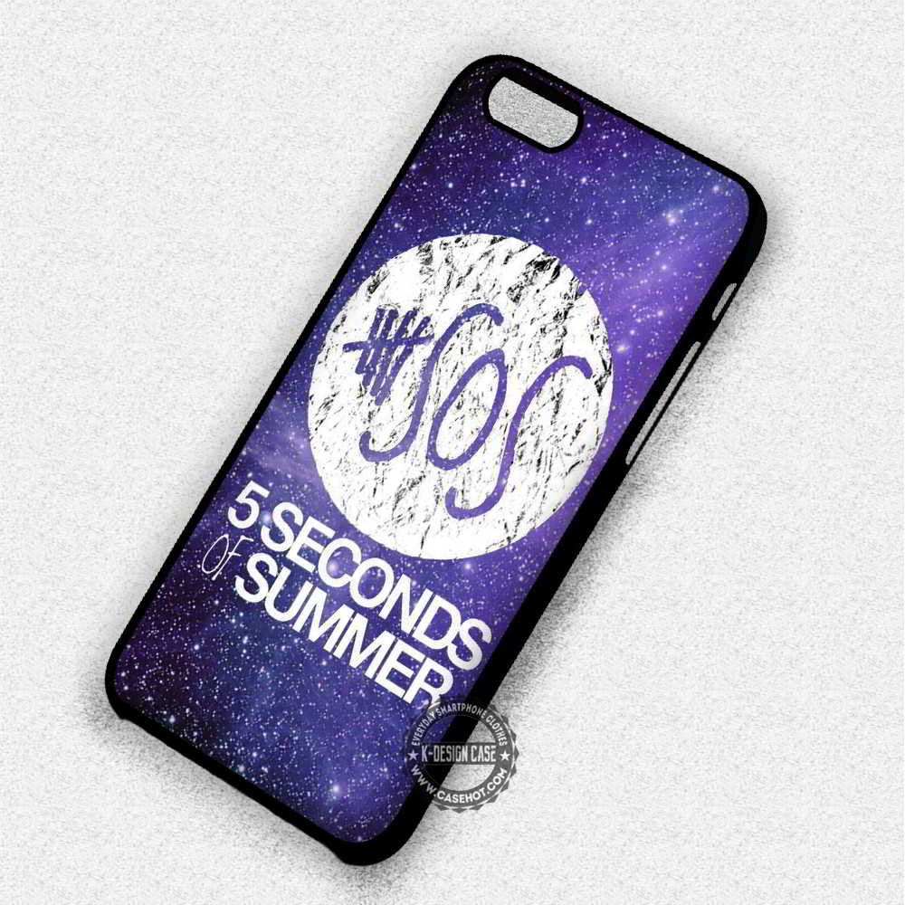 5 Seconds of Summer Galaxy - iPhone 7 6 5 SE Cases & Covers - Kawung Design  - 1