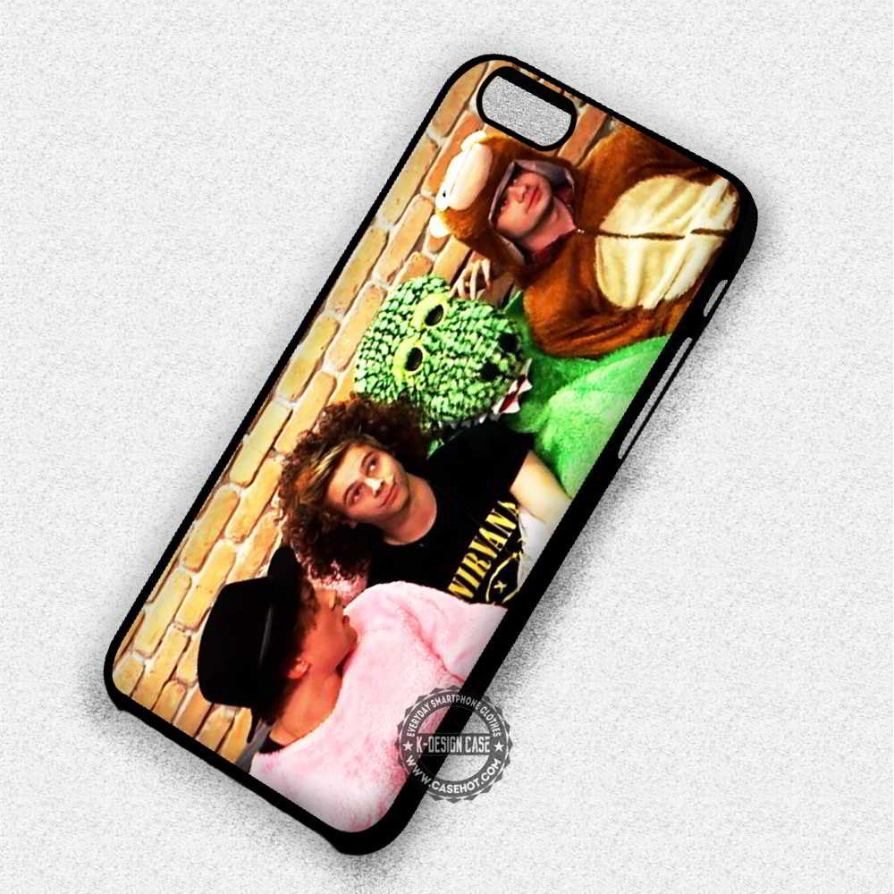 5 Seconds of Summer Live Stream Cute - iPhone 7 6 5 SE Cases & Covers - Kawung Design  - 1