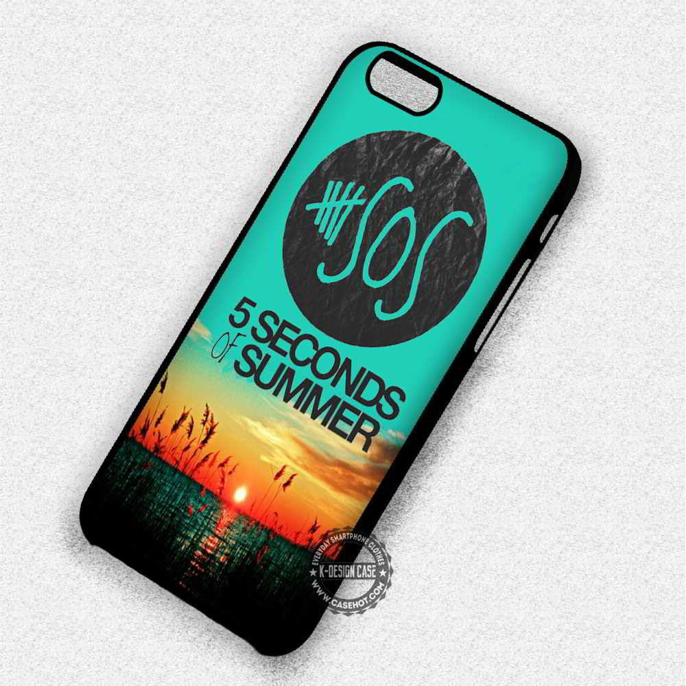 5 Seconds of Summer 5 Seconds of Summer Meadow Music - iPhone 7 6S 5 SE 4 Cases & Covers - Kawung Design  - 1
