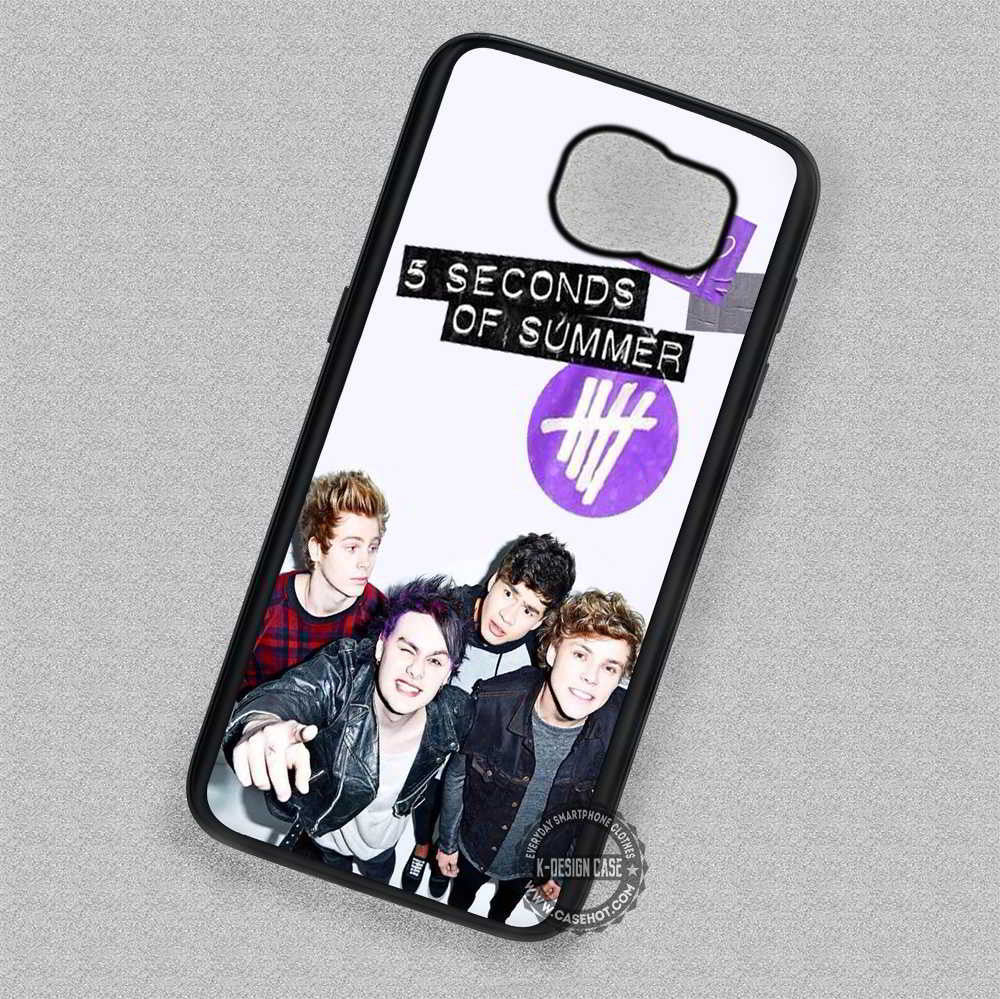 5 Seconds Of Summer Poster 5 sos - Samsung Galaxy S7 S6 S4 Note 7 Cases & Covers - Kawung Design  - 1