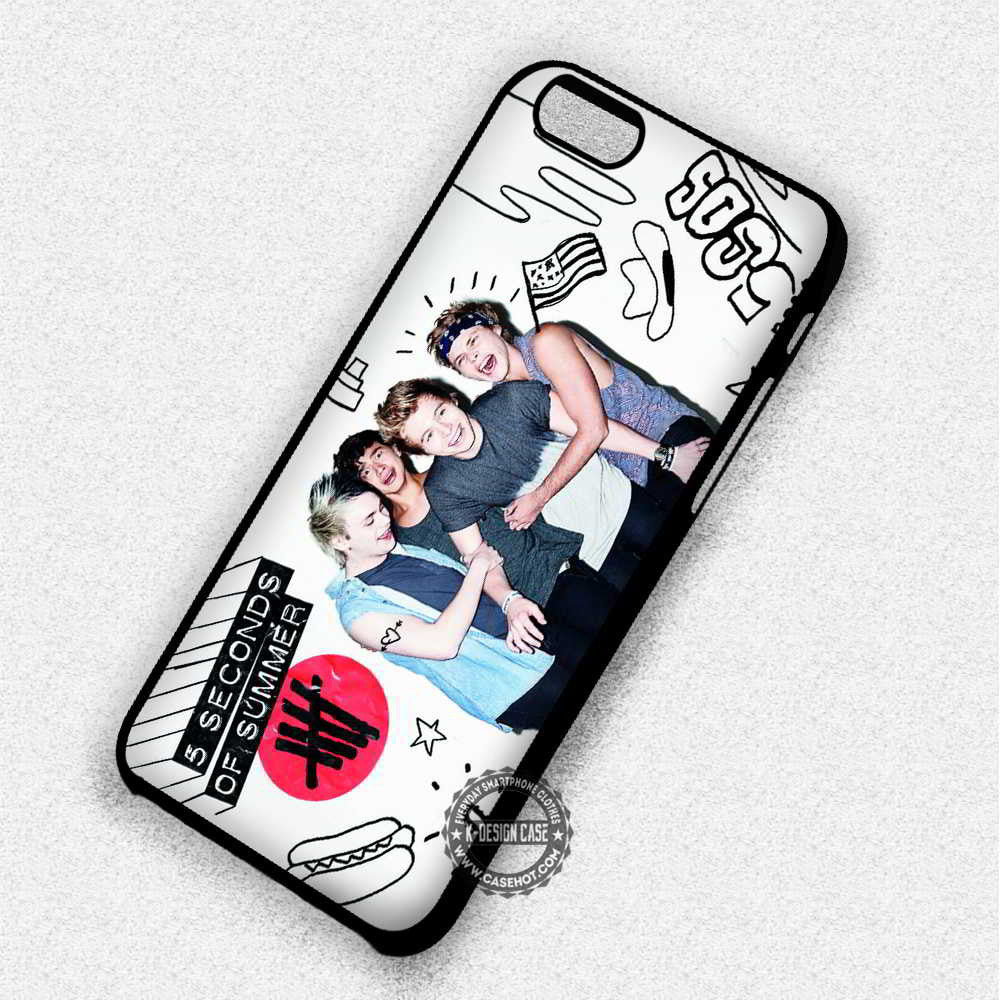 5 Seconds of Summer Luke Hemmings - iPhone 7 6 Plus Cases & Covers - Kawung Design  - 1