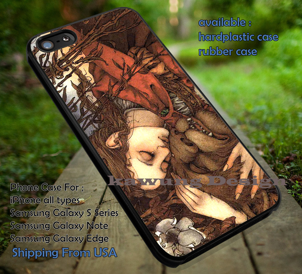 Art Painting Fairy, Fairy Tale, Beauty and The Beast, Art Noveau, Disney Belle, case/cover for iPhone 4/4s/5/5c/6/6+/6s/6s+ Samsung Galaxy S4/S5/S6/Edge/Edge+ NOTE 3/4/5 #cartoon #disney #animated #beautyandthebeast ii - Kawung Design  - 1