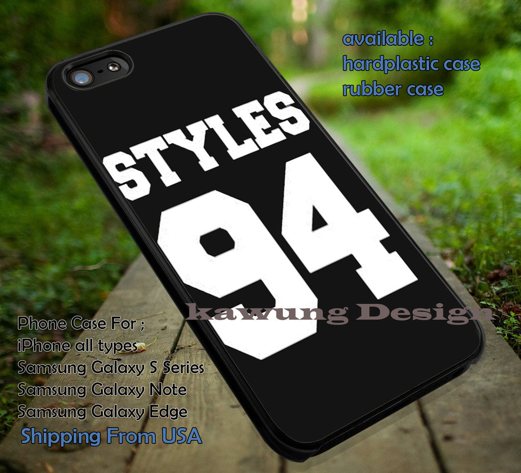 94 Styles Harry Styles 1D iPhone 7 7+ 6s 6 Cases Samsung Galaxy S8 S7 edge S6 S5 NOTE 5 4