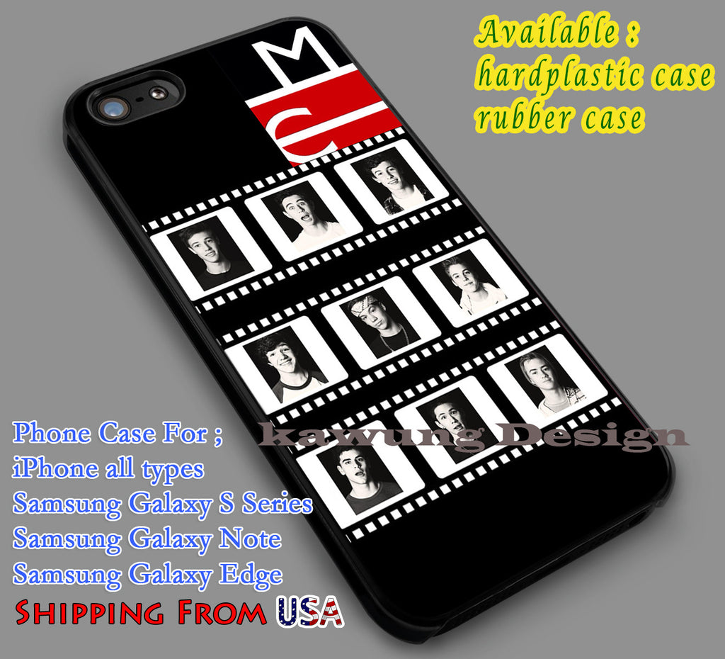 9 Boys Magcon Tour iPhone 6s 6 6s+ 5c 5s Cases Samsung Galaxy s5 s6 Edge+ NOTE 5 4 3 #movie #MagconBoys dl6 - K-Designs