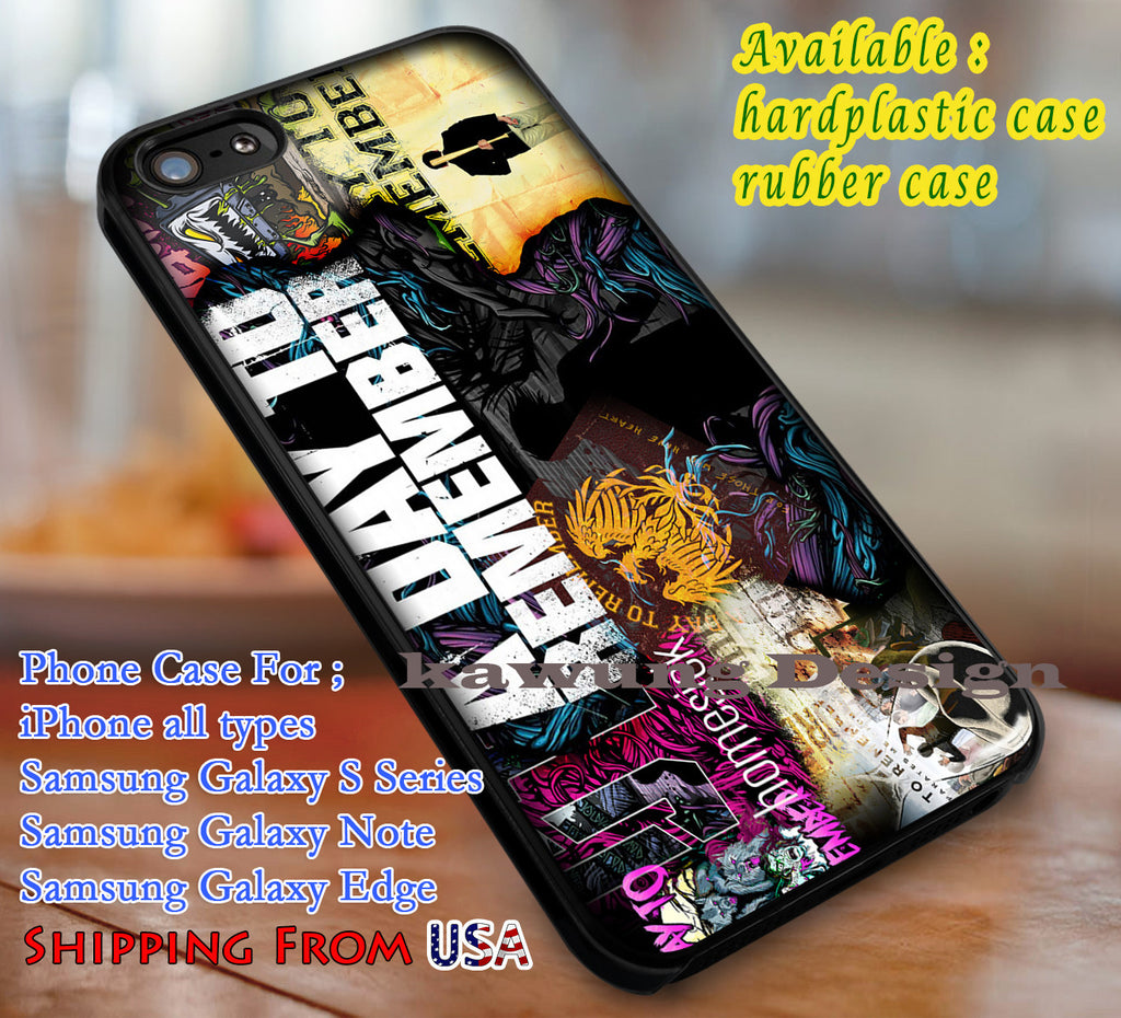 A Day To Remember Collage iPhone 8+ 7 6s Cases Samsung Galaxy S8 S7 edge NOTE 8 5 4