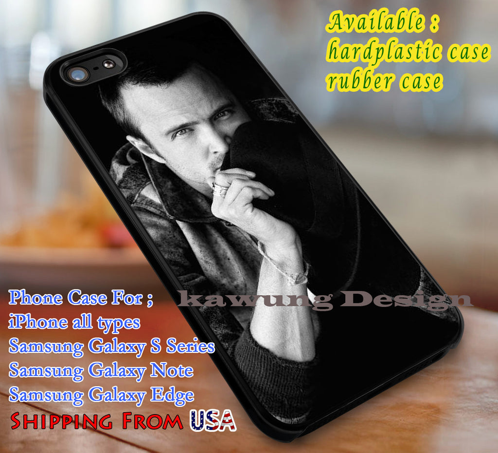 Aaron Paul Breaking Bad iPhone 6s 6 6s+ 6plus Cases Samsung Galaxy s5 s6 Edge+ NOTE 5 4 3 #movie #BreakingBad dl3 - Kawung Design  - 1