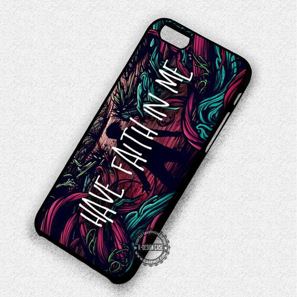 A Day To Remember - iPhone 7 6 Plus 5c 5s SE Cases & Covers - Kawung Design  - 1
