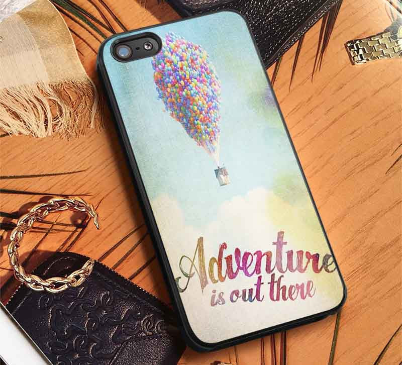 Adventure is Out There Quote iPhone 6s 6 6s+ 5c 5s Cases Samsung Galaxy s5 s6 Edge+ NOTE 5 4 3 #cartoon #disney #animated #up lk - Kawung Design  - 1