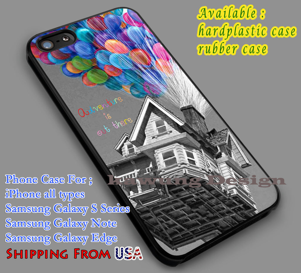 Adventure is Out There Up iPhone 8+ 7 6s Cases Samsung Galaxy S8 S7 edge NOTE 8 5 4