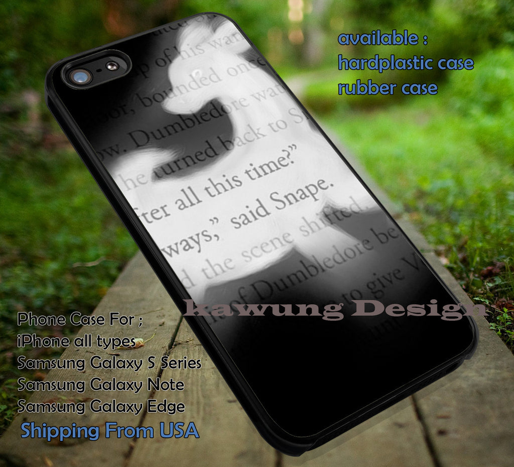 After All This Time Deer | Harry Potter | Hogwarts | Quote iPhone 6s 6 6s+ 6plus Cases Samsung Galaxy s5 s6 Edge+ NOTE 5 4 3 #movie #HarryPotter ii - Kawung Design  - 1