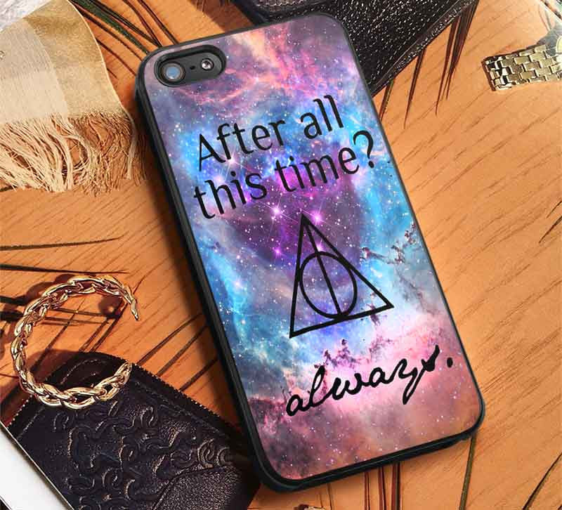 Always Quote Harry Potter Nebula iPhone 7 7+ 6s 6 SE Cases Samsung Galaxy S7 edge S6 S5  NOTE 7 5 4 3