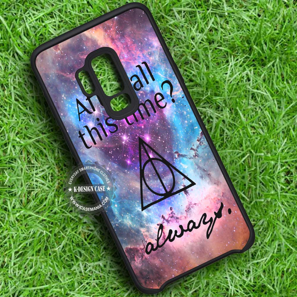 After All This Time Always Quote Harry Potter Samsung Galaxy S9 Plus Case