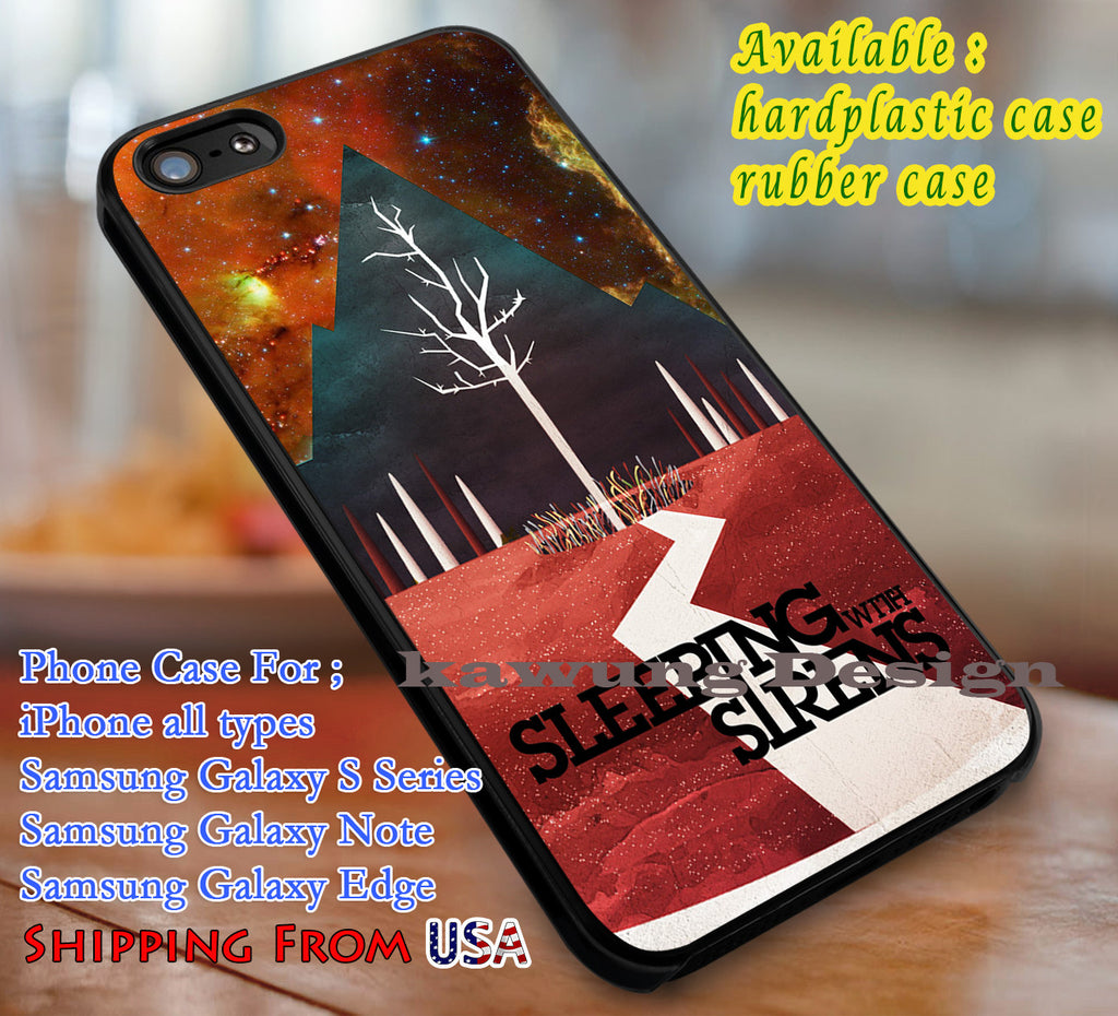 Sleeping With Sirens Album Art iPhone 8+ 7 6s Cases Samsung Galaxy S8 S7 edge NOTE 8 5 4