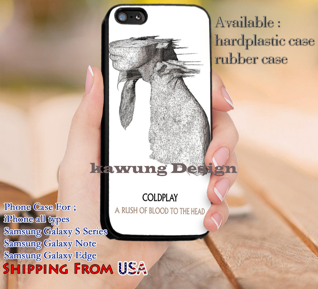 Album Cover Coldplay A Rush of Blood iPhone X 8+ 7 6s Cases Samsung Galaxy S8 S7 edge NOTE 8 5 4