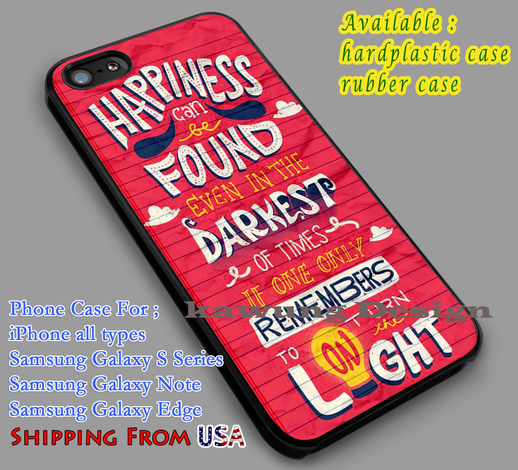 Albus Dumbledore 's Quote iPhone X 8+ 7 6s Cases Samsung Galaxy S8 S7 edge NOTE 8 5 4