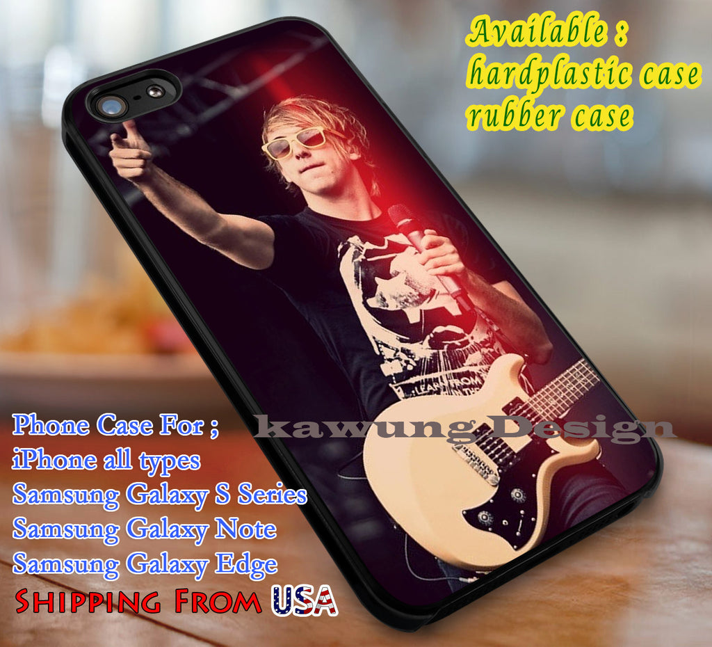 Alex Gaskarth All Time Low iPhone 6s 6 6s+ 6plus Cases Samsung Galaxy s5 s6 Edge+ NOTE 5 4 3 #music #atl dl3 - Kawung Design  - 1