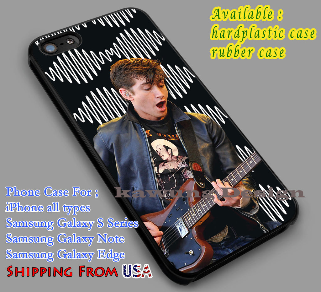 Alex Turner Arctic Monkeys iPhone 6s 6 6s+ 5c 5s Cases Samsung Galaxy s5 s6 Edge+ NOTE 5 4 3 #music #arc dl5 - Kawung Design  - 1