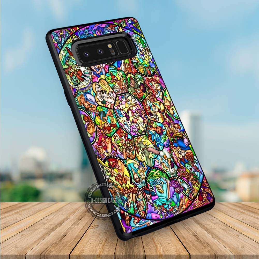 All Character Stained Glass Disney Samsung Galaxy NOTE 8 Case