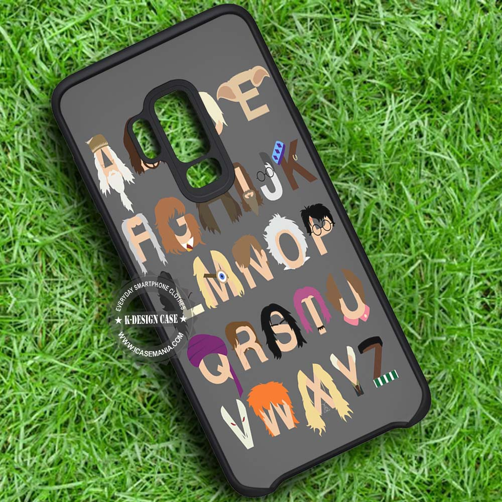 Alphabet Harry Potter Samsung Galaxy S9 Plus Case