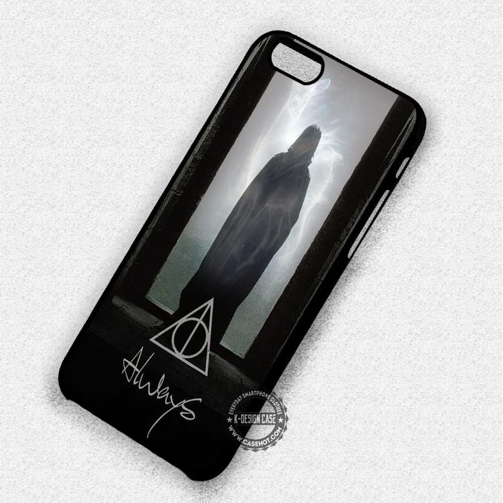 Always Severus Snape Harry Potter Deathly Hollows - iPhone 7 6 Plus 5c 5s SE Cases & Covers - Kawung Design  - 1