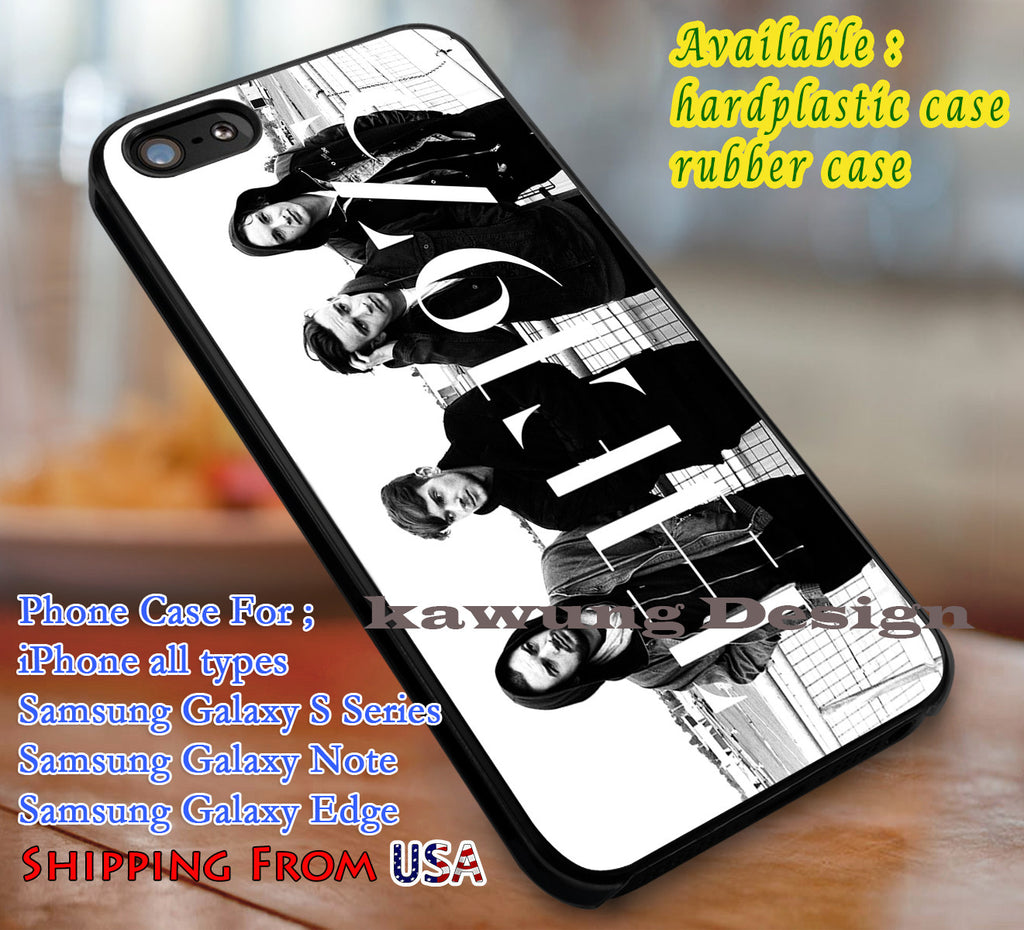 Amazing Band The 1975 iPhone 6s 6 6s+ 6plus Cases Samsung Galaxy s5 s6 Edge+ NOTE 5 4 3 #music #1975 dl3 - Kawung Design  - 4