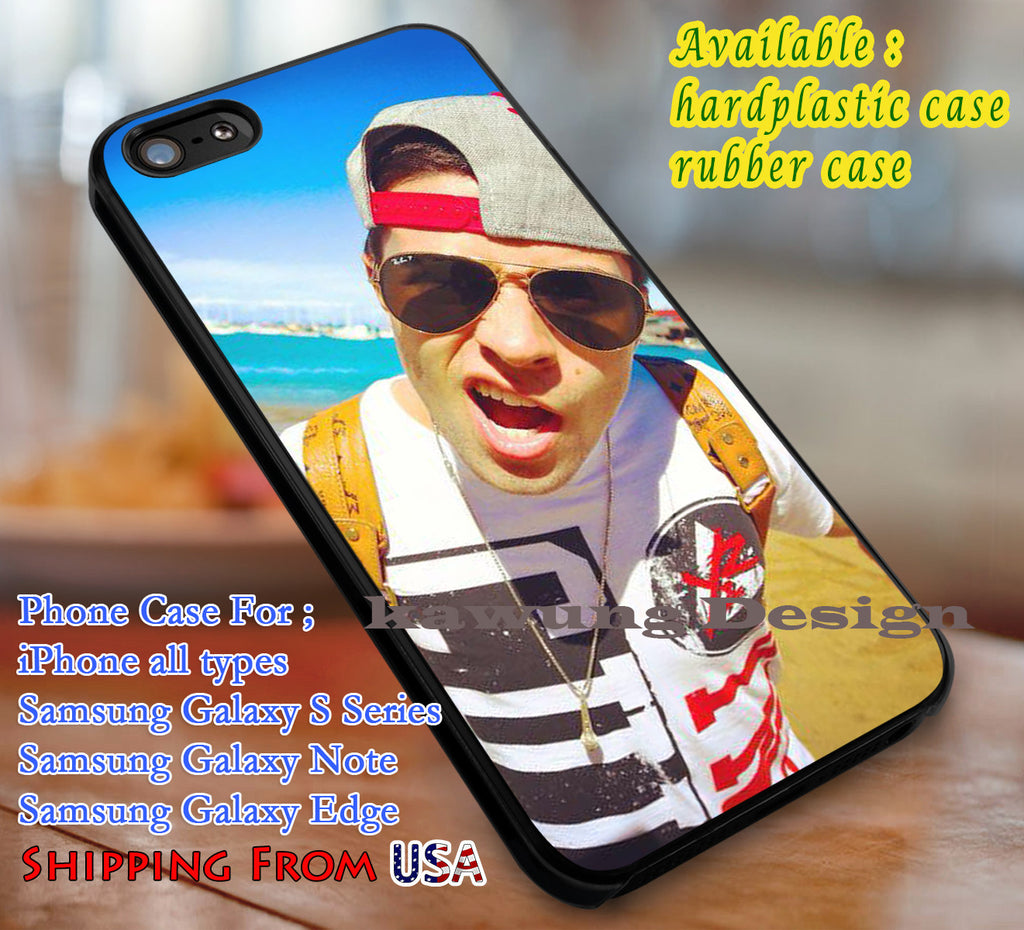Amazing Rapper Jake Miller iPhone 6s 6 6s+ 6plus Cases Samsung Galaxy s5 s6 Edge+ NOTE 5 4 3 #music #jml dl3 - Kawung Design  - 1