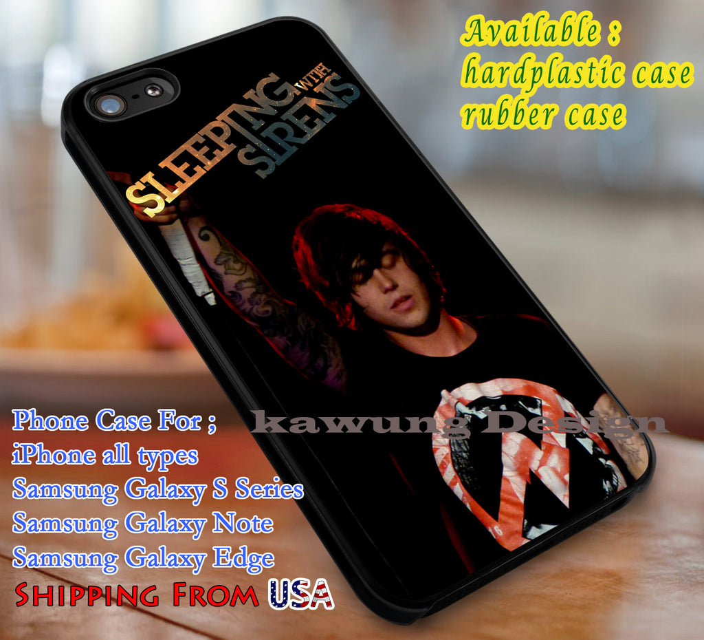Amazing Vocalist Kellin Quinn iPhone 6s 6 6s+ 6plus Cases Samsung Galaxy s5 s6 Edge+ NOTE 5 4 3 #music #sws dl3 - Kawung Design  - 4
