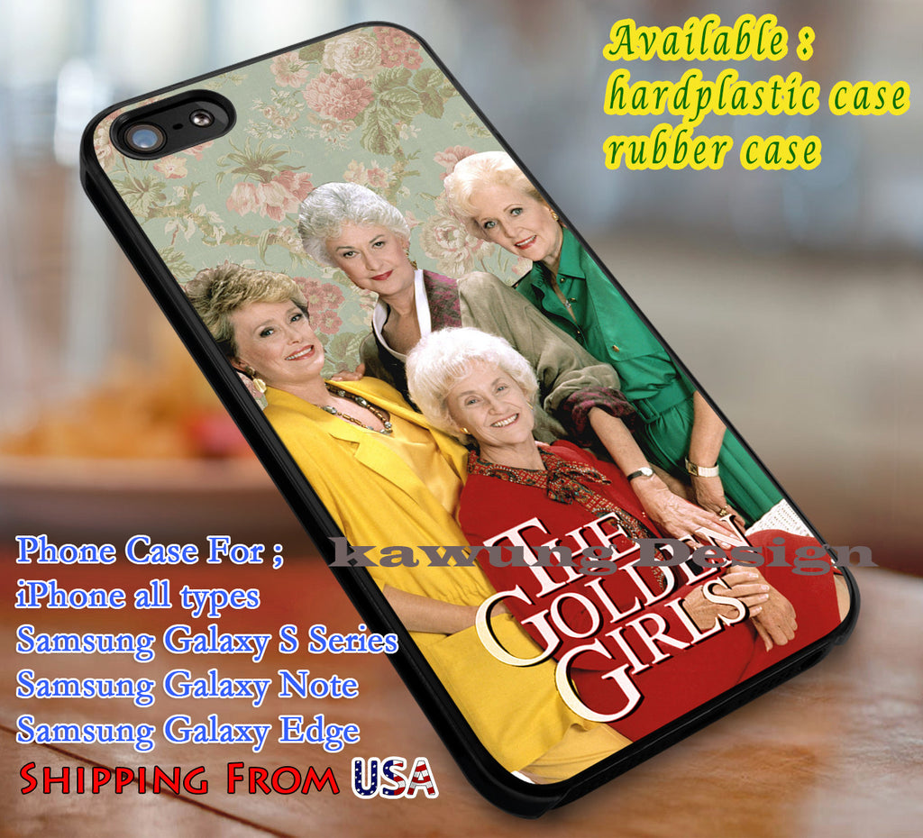 Amazing Women The Golden Girls iPhone 8+ 7 6s Cases Samsung Galaxy S8 S7 edge NOTE 8 5 4