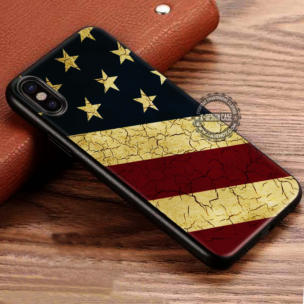 American Flag Primitive iPhone X Case