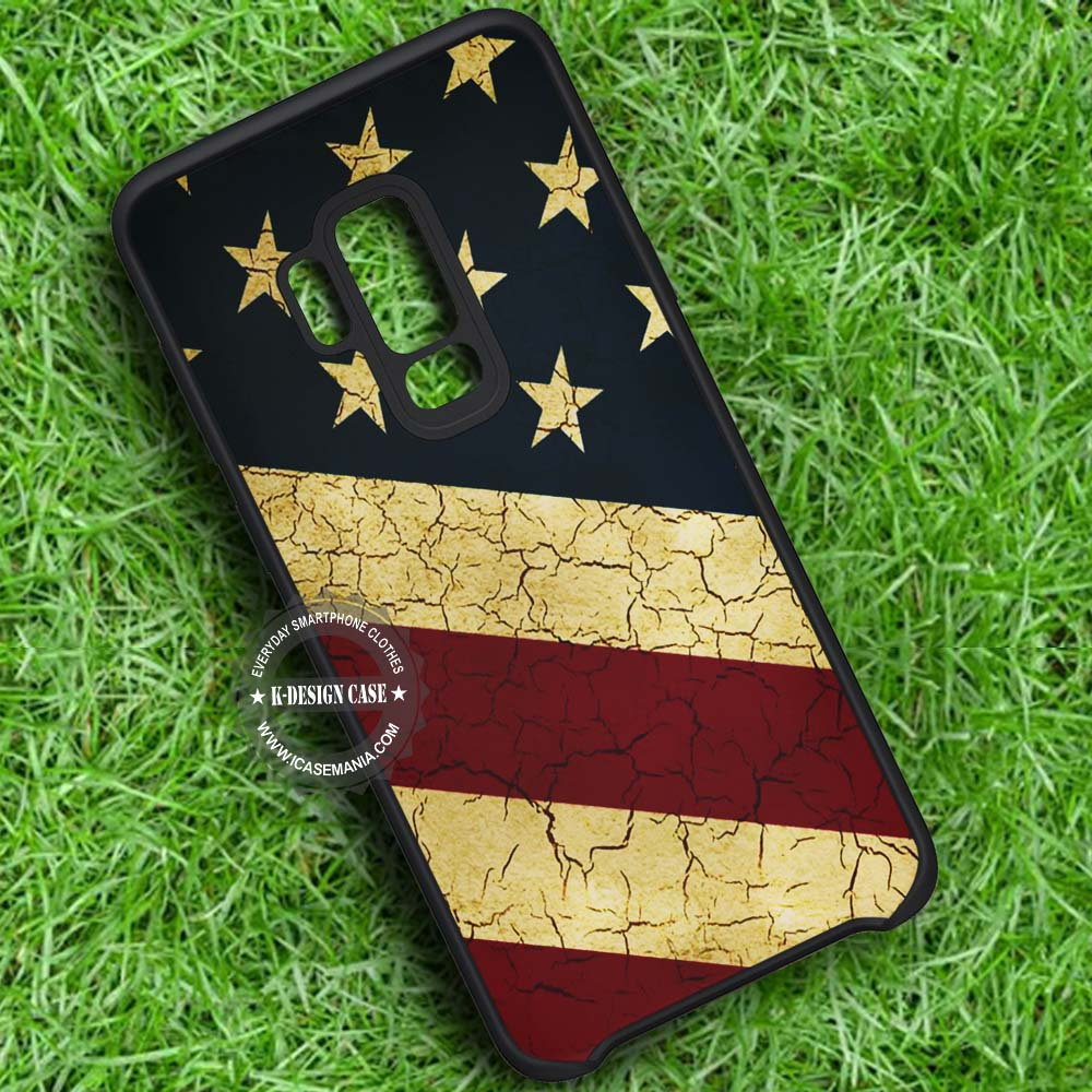 American Flag Primitive Samsung Galaxy S9 Plus Case