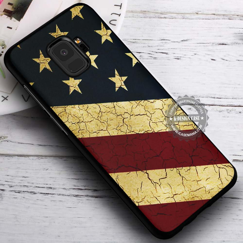 American Flag Primitive Samsung Galaxy S9 Case
