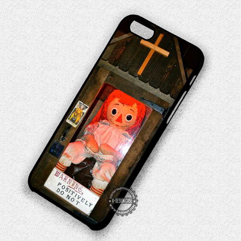 Anabelle Doll Horror - iPhone 7 6 Plus 5c 5s SE Cases & Covers - Kawung Design  - 1