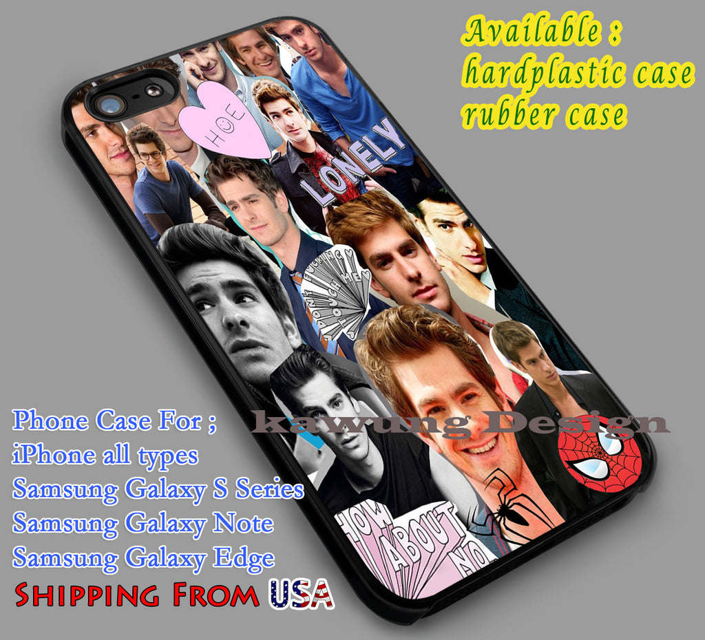 Andrew Garfield Collage | Spiderman | Amazing Spiderman iPhone 6s 6 6s+ 6plus Cases Samsung Galaxy s5 s6 Edge+ NOTE 5 4 3 #movie #disney #animated #marvel #comic #spiderman dl2 - Kawung Design  - 1