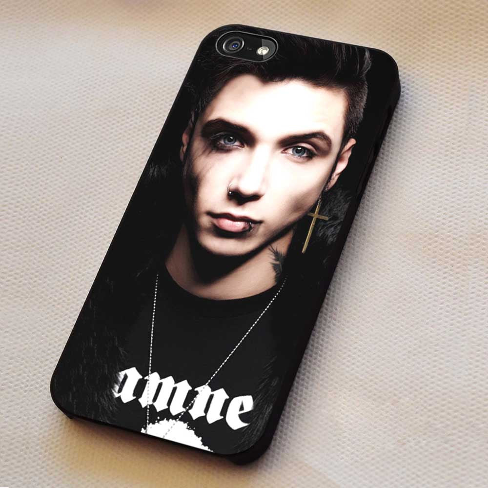 Andy Biersack Black Veil Brides iPhone 8+ 7 6s Cases Samsung Galaxy S8 S7 edge NOTE 8 5 4