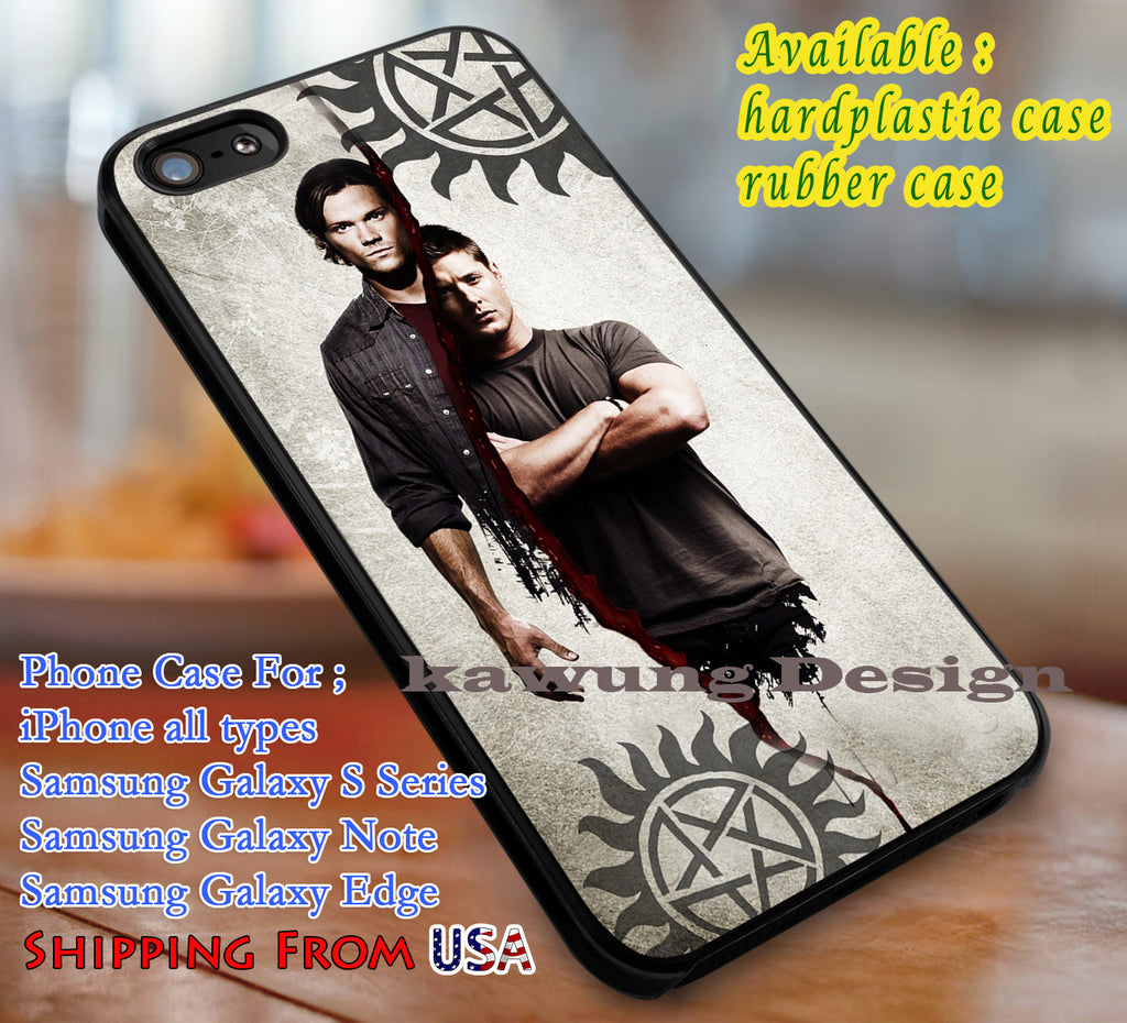 Anti Possesion Winchester | Anti Possession | Winchester | Supernatural Case/cover for iPhone 4/4s/5/5c/6/6+/6s/6s+ Samsung Galaxy S4/S5/S6/Edge/Edge+ NOTE 3/4/5 #movie dl1 - Kawung Design  - 1