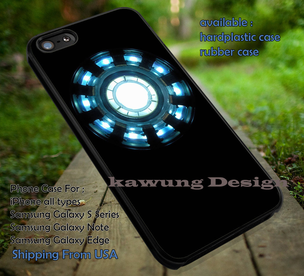 Arc Reactor | Iron Man | Avengers iPhone 6s 6 6s+ 6plus Cases Samsung Galaxy s5 s6 Edge+ NOTE 5 4 3 #movie #cartoon #disney #animated #marvel #comic ii - Kawung Design  - 1
