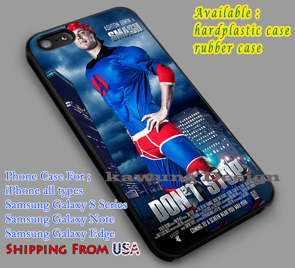 Ashton Irwin Don't Stop iPhone 6s 6 6s+ 6plus Cases Samsung Galaxy s5 s6 Edge+ NOTE 5 4 3 #music #5sos dl4 - Kawung Design  - 4