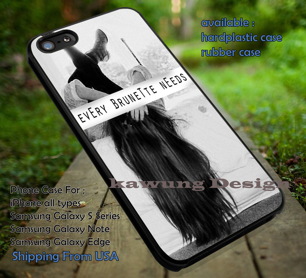 BFF Brunette Black and White iPhone 6s 6 6s+ 6plus Cases Samsung Galaxy s5 s6 Edge+ NOTE 5 4 3 #quote ii - Kawung Design  - 1