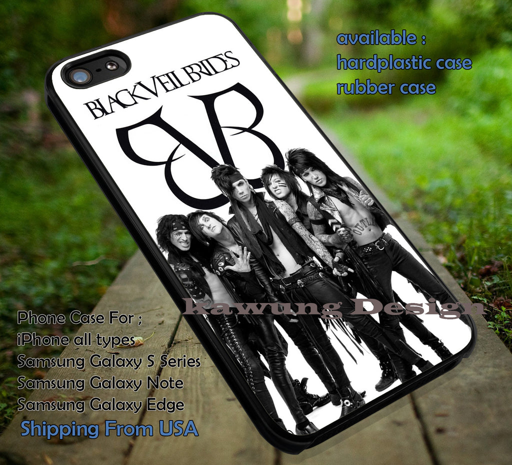 BVB punk band, black veil brides, case/cover for iPhone 4/4s/5/5c/6/6+/6s/6s+ Samsung Galaxy S4/S5/S6/Edge/Edge+ NOTE 3/4/5 #music #bvb ii - Kawung Design  - 1