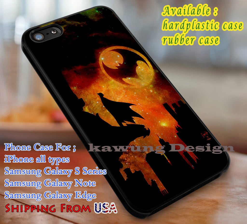Bat Signal Batman iPhone 6s 6 6s+ 6plus Cases Samsung Galaxy s5 s6 Edge+ NOTE 5 4 3 #cartoon #batman #superheroes dl3 - Kawung Design  - 1