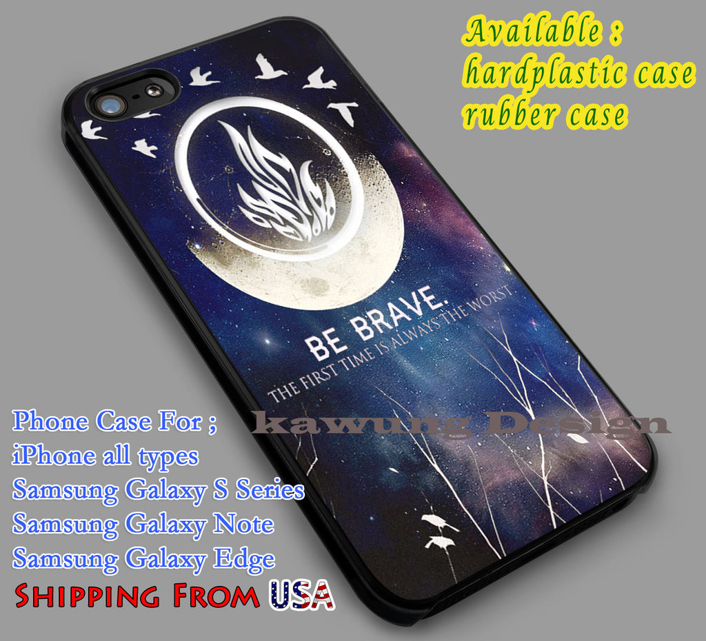Be Brave Quote iPhone 6s 6 6s+ 6plus Cases Samsung Galaxy s5 s6 Edge+ NOTE 5 4 3 #quote dl4 - Kawung Design  - 1