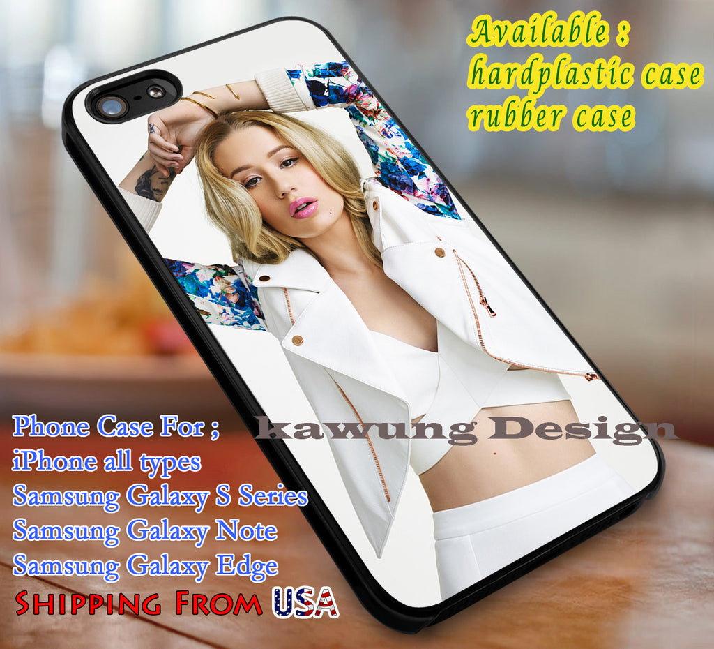 Beautiful Iggy Azalea iPhone 6s 6 6s+ 6plus Cases Samsung Galaxy s5 s6 Edge+ NOTE 5 4 3 #music #ia dl3 - Kawung Design  - 1
