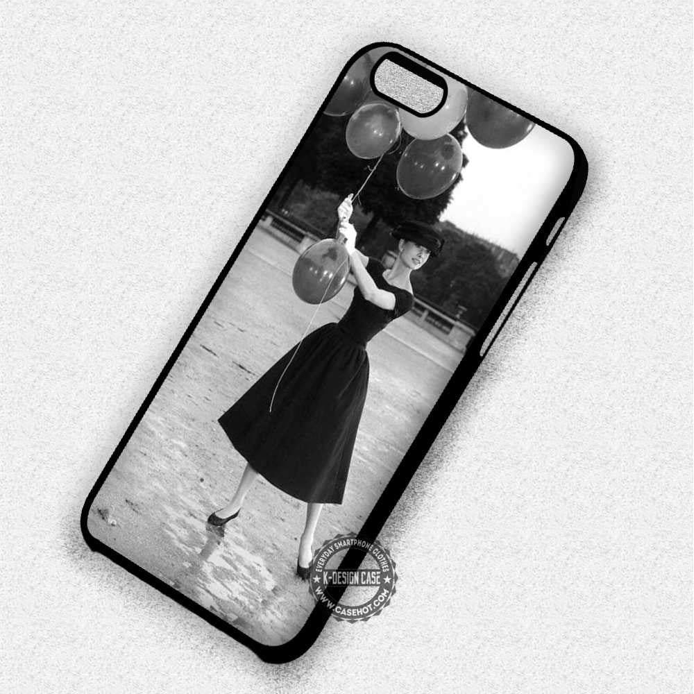 Beautiful Audrey Hepburn - iPhone 7 6 Plus 5c 5s SE Cases & Covers - Kawung Design  - 1