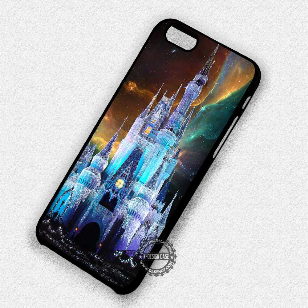 Beautiful Castle Cinderella - iPhone 7 6 Plus 5c 5s SE Cases & Covers - Kawung Design  - 1